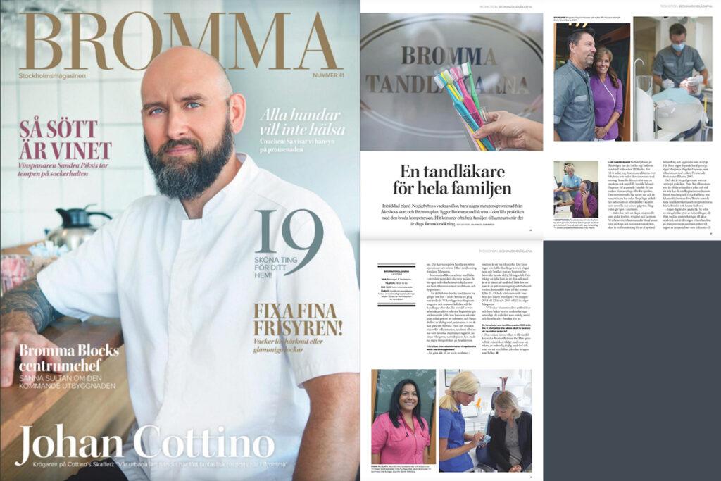 Omslagsbild Brommamagasinet